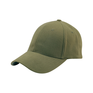 6862-Mega Flex Low Profile (Structured) Brushed Twill Fitted Cap
