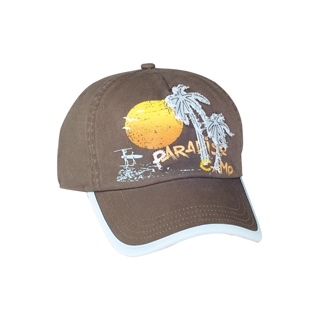 6888-5 Panel Cotton Twill Washed Cap
