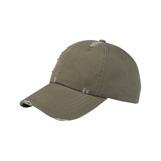 6891-Low Profile (Uns) Washed Twill Distressed Cap