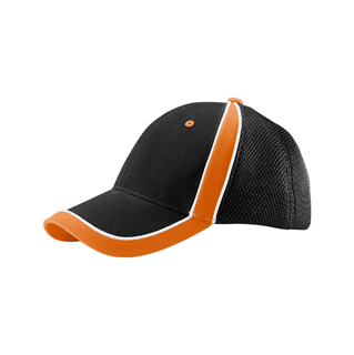 6941-Mega Flex (Structured) Brushed Canvas Mesh Cap