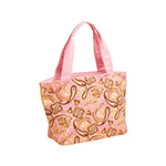 Paisley Print Canvas Tote Bag
