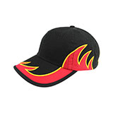 Youth Low Profile (Uns) Washed Cotton Twill Flame Cap