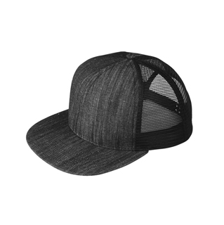 4419a521b12 Wholesale Flat Bill Trucker Cap - Flat Bill Caps - Baseball Caps - Mega Cap  Inc
