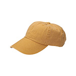 Washed Pigment Dyed Cotton Twill Cap