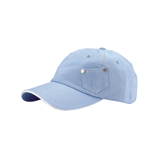 7639-Casual Cotton Twill Washed Cap