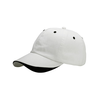 7648-Low Profile (Uns) Dlx Brushed Twill Washed Cap