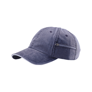 7661-Low Profile (Uns) Pigment Dyed Twill Cap