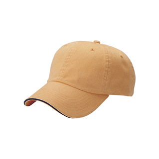 7676-Low Profile (Unstructured) Washed Twill Cap