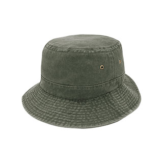 7801A-Pigment Dyed Twill Washed Bucket Hat