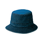 Youth Denim Washed Bucket Hat
