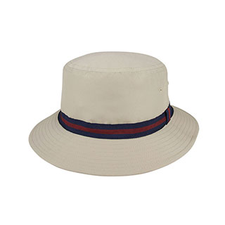 7815B-Water Repellent Brushed Microfiber Golf Bucket Hat