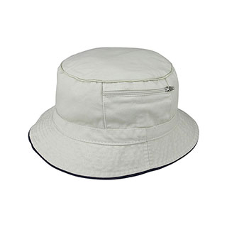 7825-Cotton Twill Washed Bucket Hat