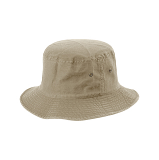 7850A-Normal Dyed Twill Washed Bucket Hat