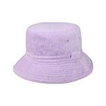 Long Loop Cotton Terry Cloth Knitted Hat