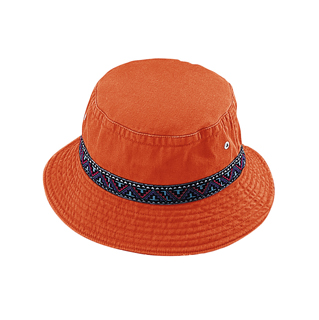 7863-Cotton Twill Washed Bucket Hat
