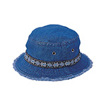 Denim Washed Bucket Hat
