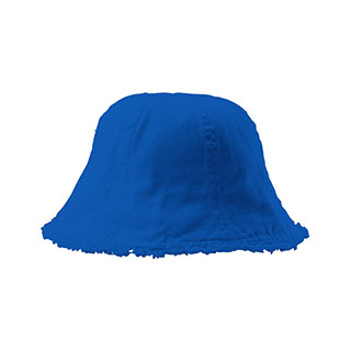 7879A-Cotton Washed Frayed Brim Bucket Hat