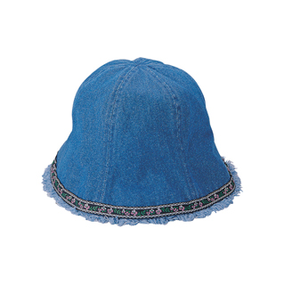 7879B-Denim Washed Bucket Hat
