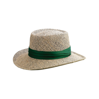 8001CNT-Gambler Shape Straw Hat