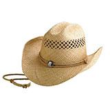 Raffia Straw Cowboy Hat