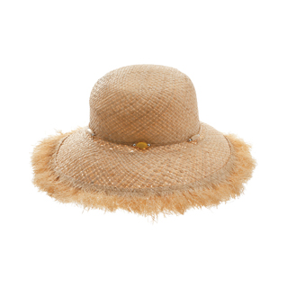8179-Ladies' Raffia Straw Hat