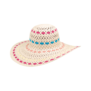 8213-Ladies' Fahsion Toyo Hat