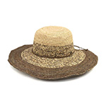 Infinity Selections Fashion Raffia Crocheted Hat