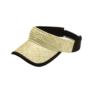 8410-Straw Trucker Visor