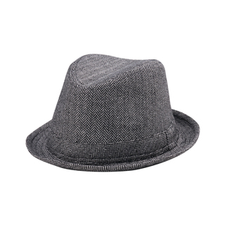 8706-Wool Fedora Hat