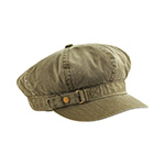 Pigment Dyed Special Cotton Washed Newsboy Cap