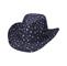 Main - 8908-Star Print Denim Hat