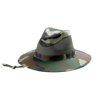 8911A-Canvas Brim & Mesh Crown Hat