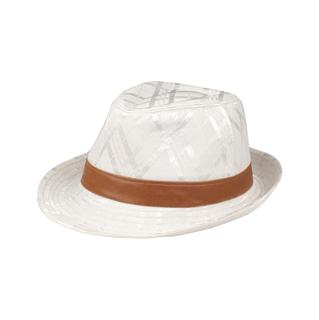 8913-Jaquard Polyester Fedora Hat