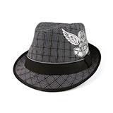 Plaid Fedora Hat