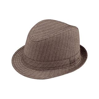 8928-Herringbone Fedora Hat