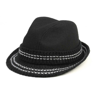8942-Infinity Selections Wool Blend Fedora