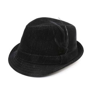 8948-Infinity Selections Polyester Denim Fedora Hat