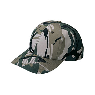 9005B-Low Profile Camouflage Twill Cap