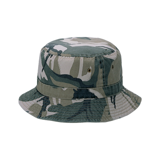 9011-Camouflage & Twill Washed Reversible Hunting Hat
