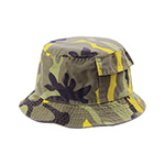 Camouflage Twill Washed Bucket Hat
