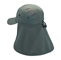 Main - 9020B-Camouflage Twill Cap W/Flap