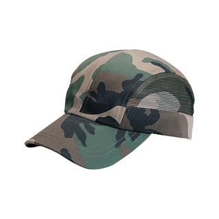 9022-Camouflage Twill & Mesh Washed Cap