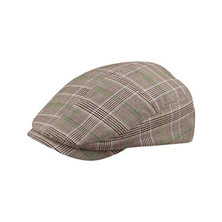 7ec8c19e Wholesale Fashion Plaid Ivy Cap - Ivy Caps - Newsboy / Ivy / Fidel Caps -  Mega Cap Inc