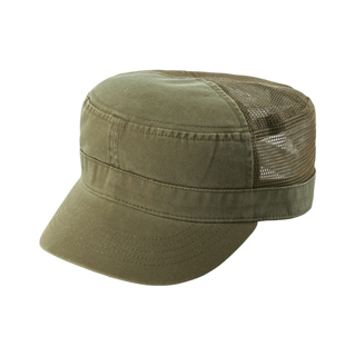 9035-Enzyme Washed Cotton Twill Army Cap