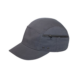 9045-Washed Cotton Twill Casual Cap W/ Zipper