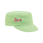 Youth Peach Feel Cotton Fidel Army Cap