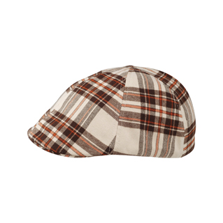 2138-Plaid Ivy Cap