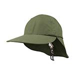 Juniper Microfiber Flap Cap w/ String & Clip