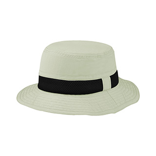 J7224-Juniper Taslon UV Bucket Hat w/ Meshed Crown