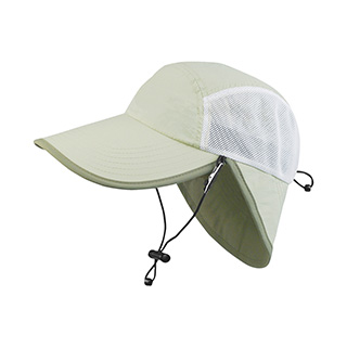 J7234-Juniper Taslon UV Cap w/ Removable Chin Cord